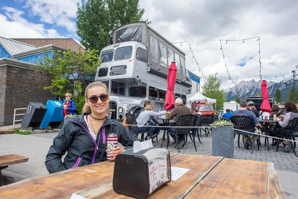 The food trucks in Canmore