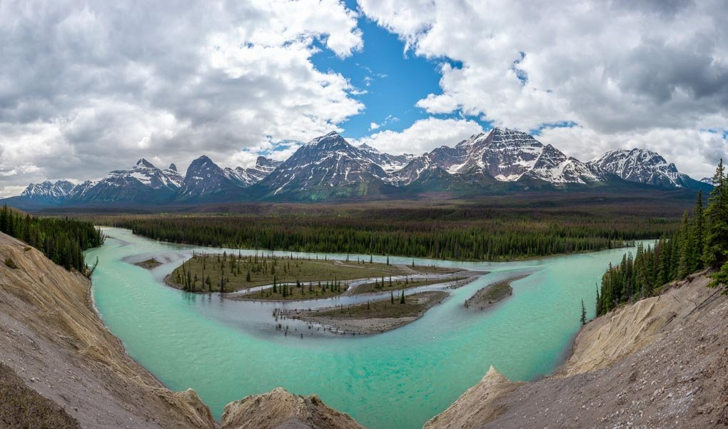 The Goats and Glacier Viewpoint, Canada, Icefields Parkway