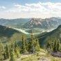 Heart Mountain Horseshoe Loop hike near Canmore