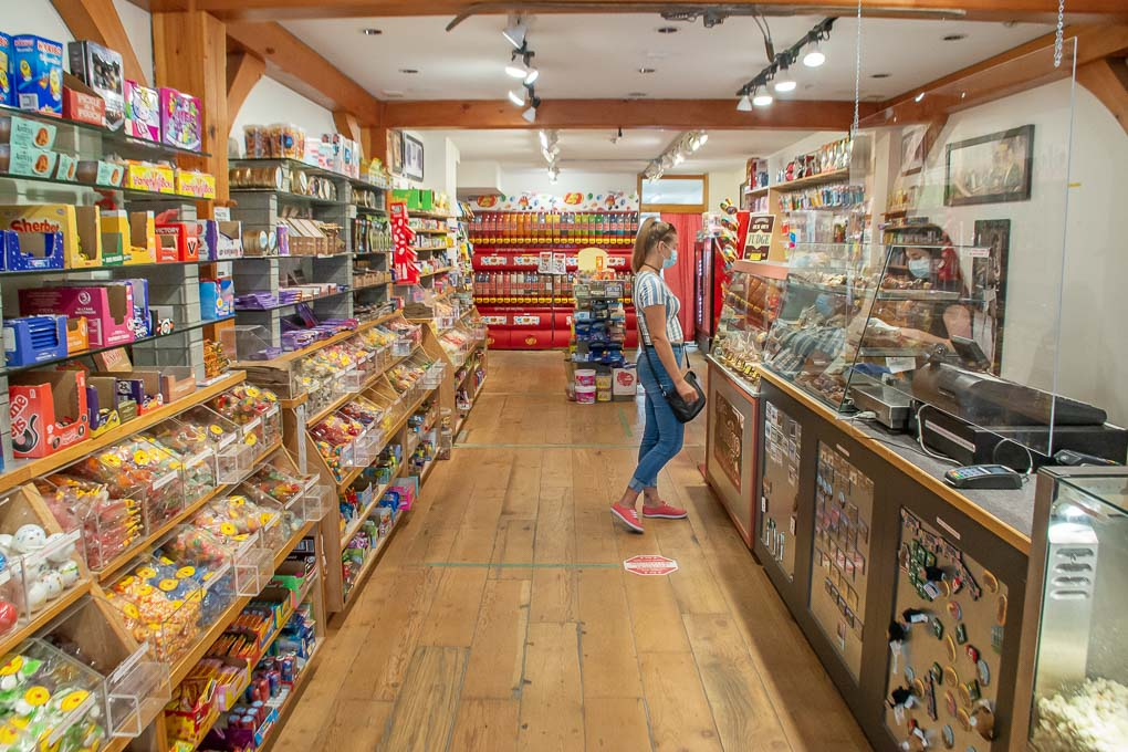 Olde Tyme Candy Shoppe in Canmore
