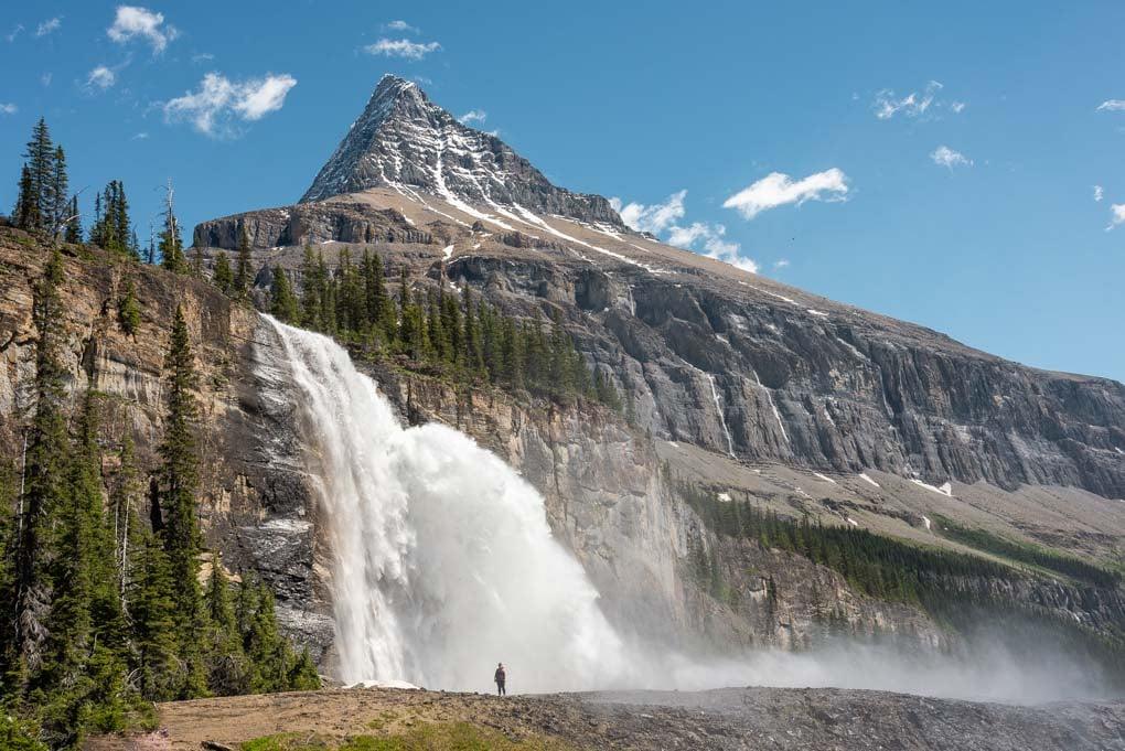 Emperor Falls in Mt Robson Provincial Park