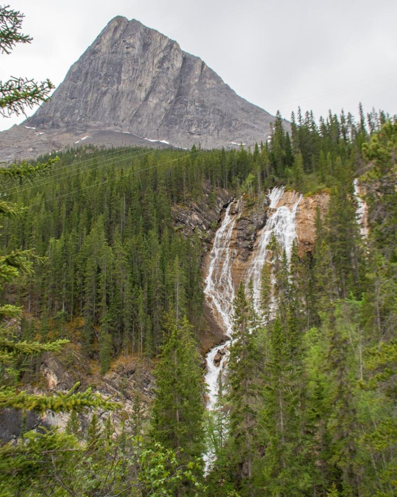 Lawrence Grassi Waterfall on the grassi Lakes Trail