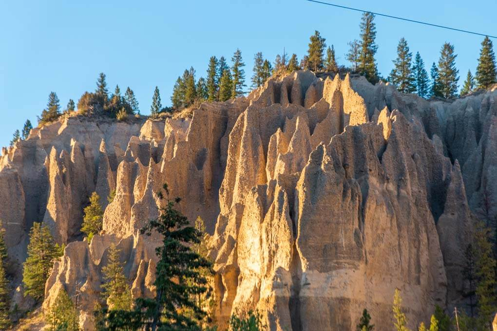 The hoodoo's near Invermere, BC