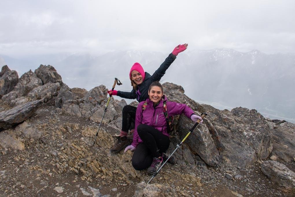 The summit of Ha Ling Peak