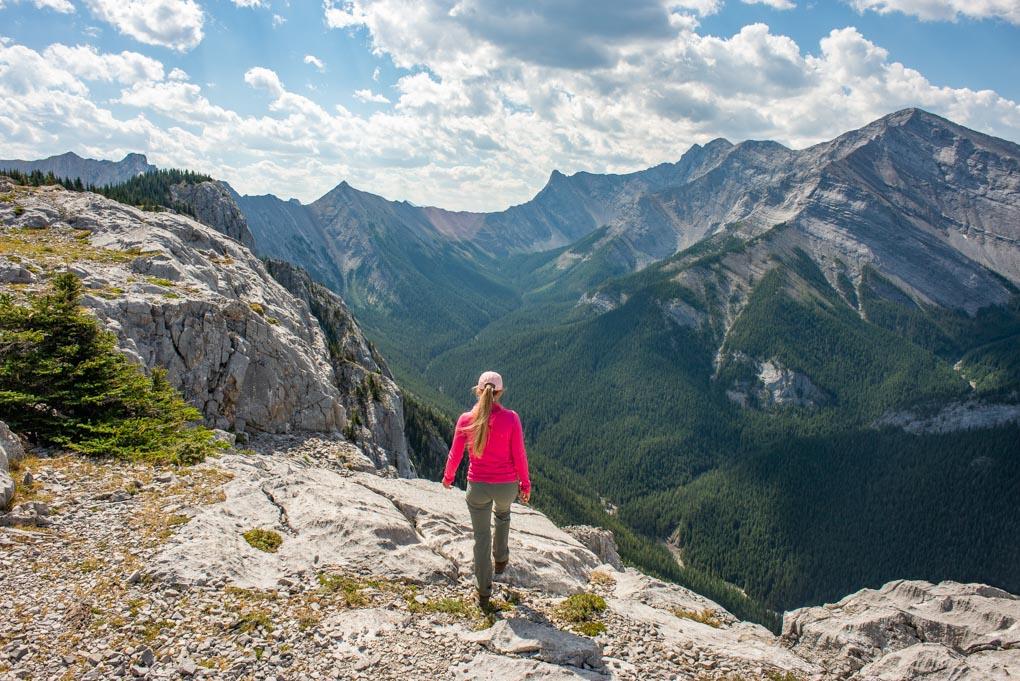 ailey on Heart Mountain summit