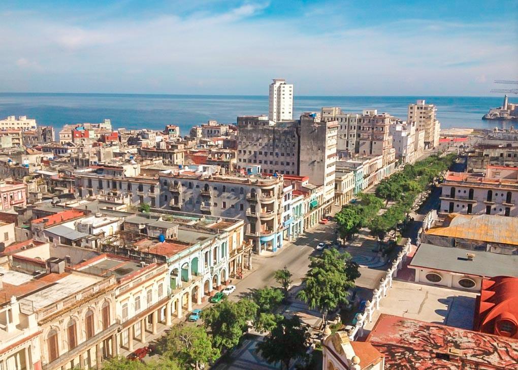 The views of Havana from La Torre