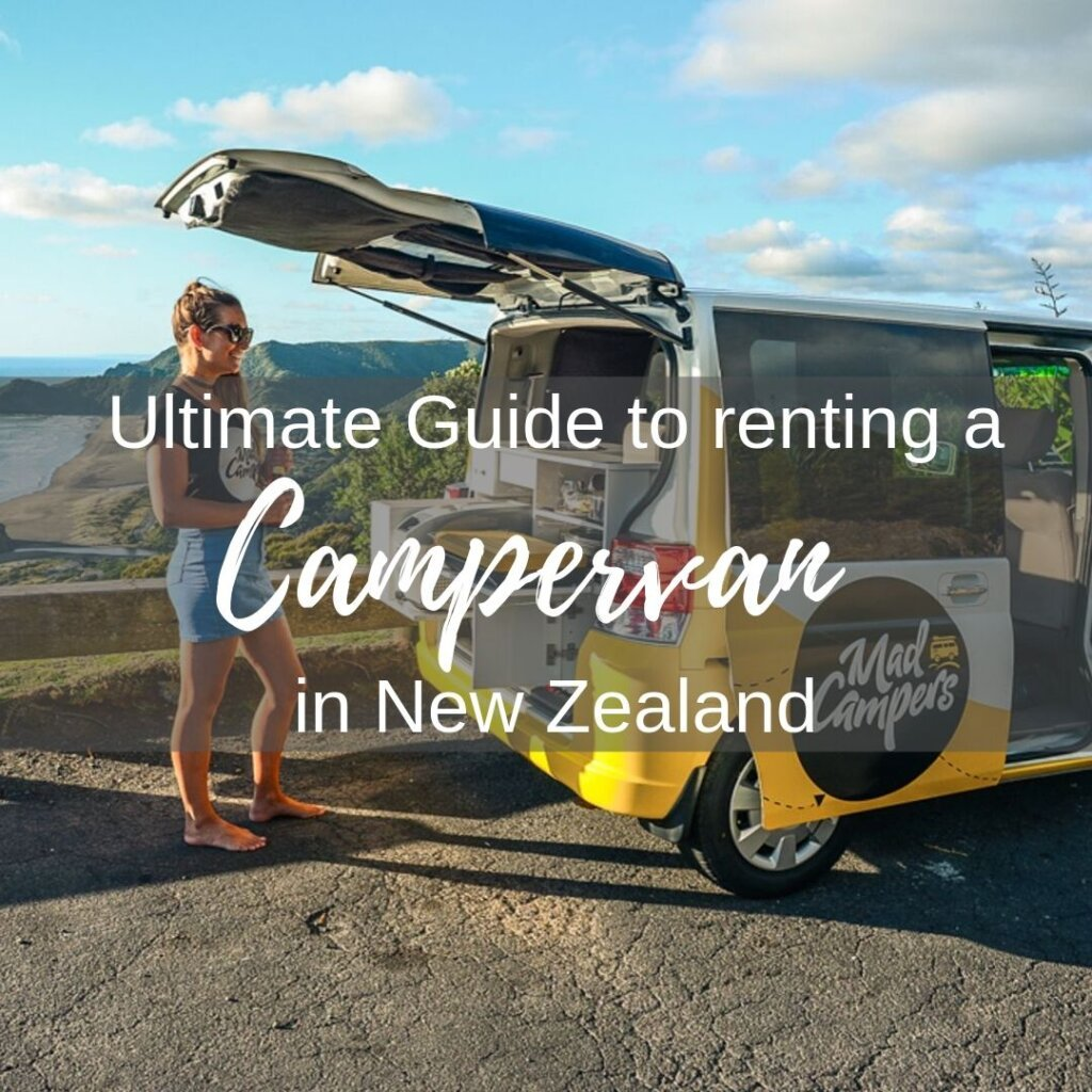 Renting a campervan in New Zealand guide