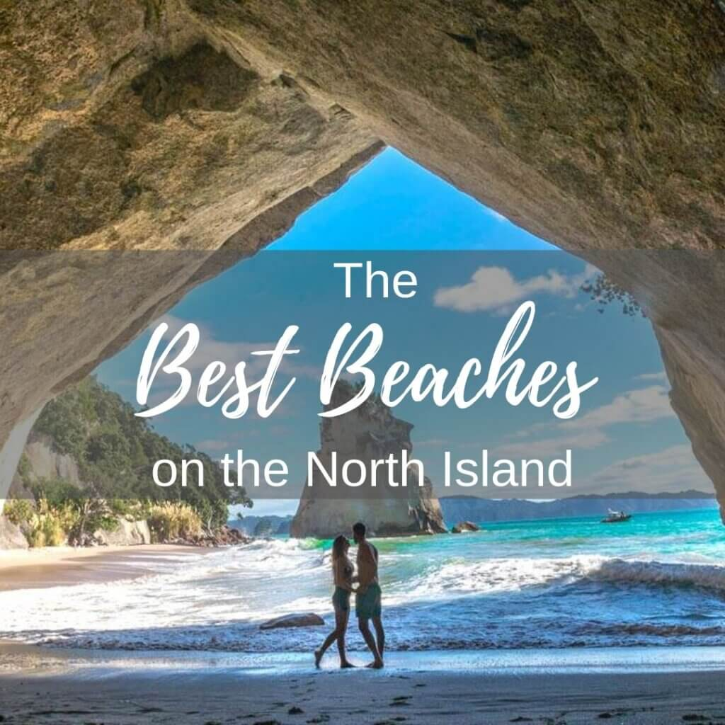 Best beaches on the North Island of New Zealand
