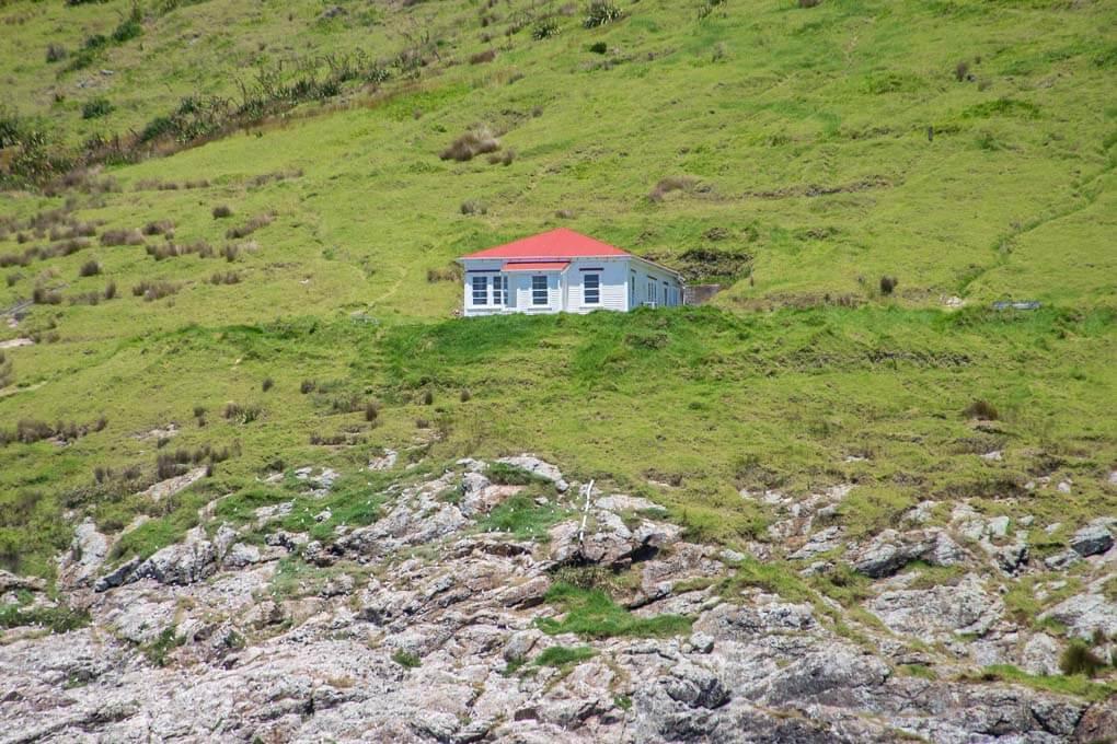 Capr Brett Hut, New Zealand