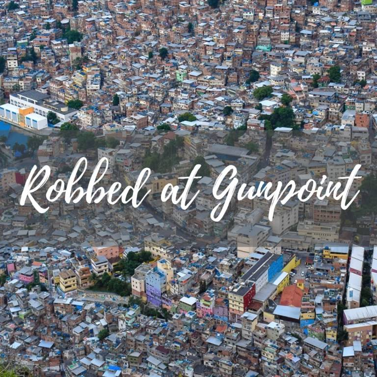 Robbed at gunpoint in Brazil