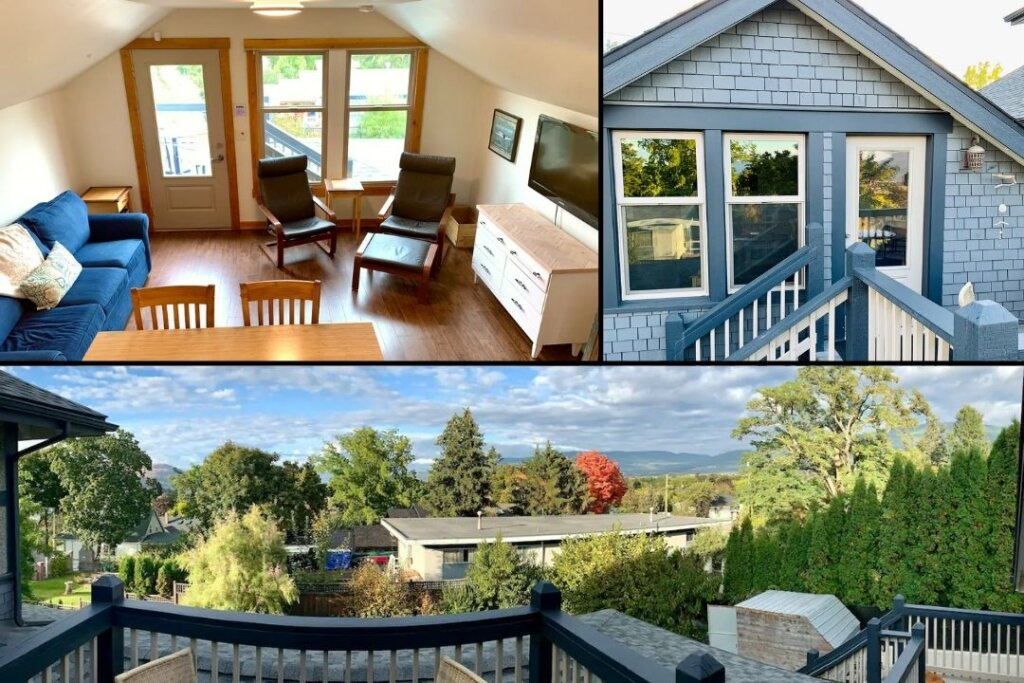 Charming Easthill Private Suite Aribnb in Vernon, BC