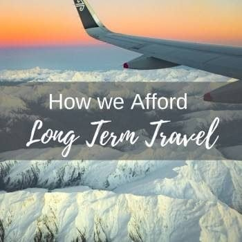 Afford Long Term travel