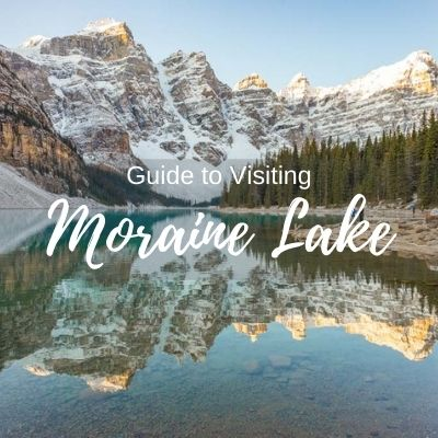 Guide to visiting Moraine lake