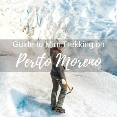 Puerto Moreno Glacier Trekking