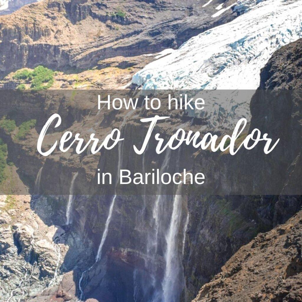 Hiking Cerro Tronador