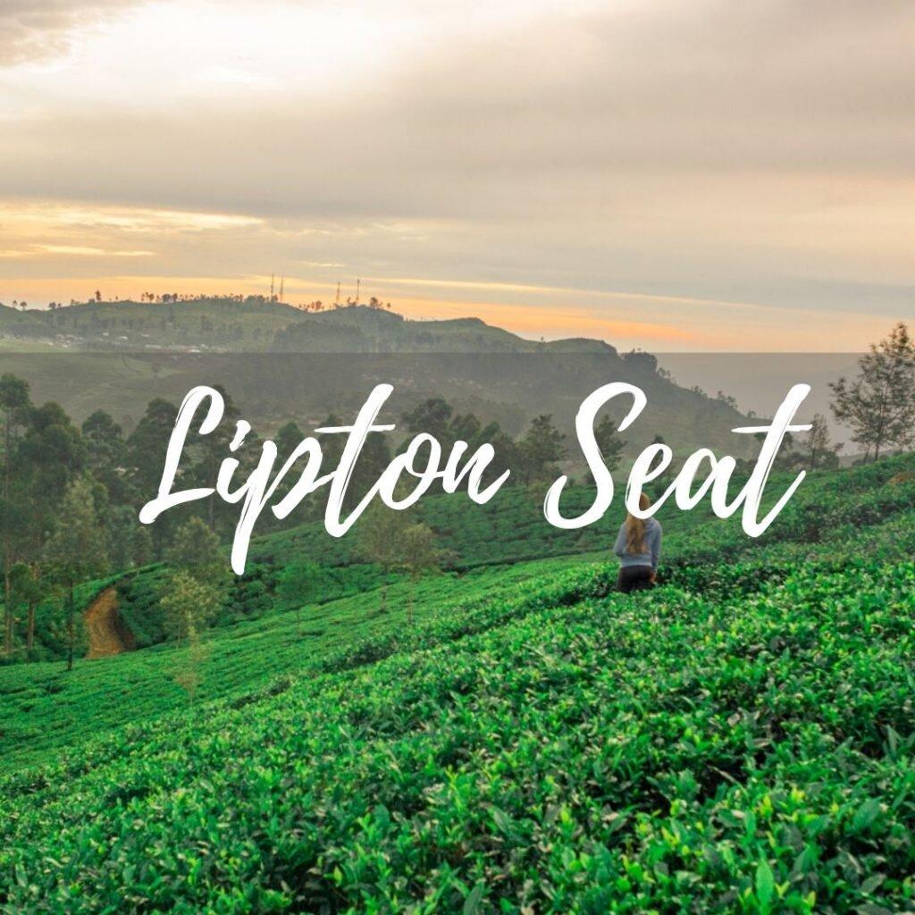 Lipton Seat, Sri lanka