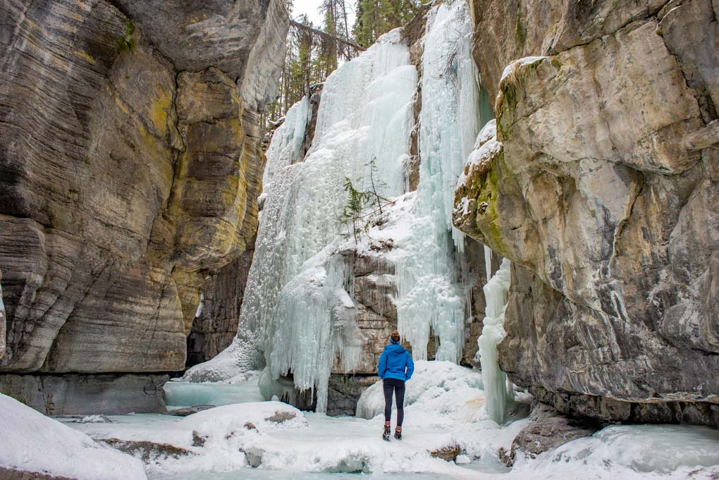 Maligne canyon Ice Walk in Jasper