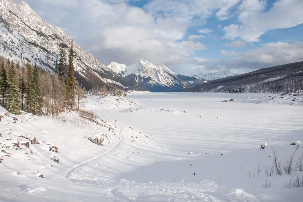 Medicine Lake in winter