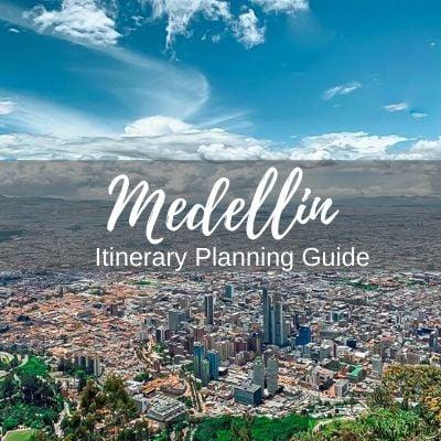 Medellin itinerary