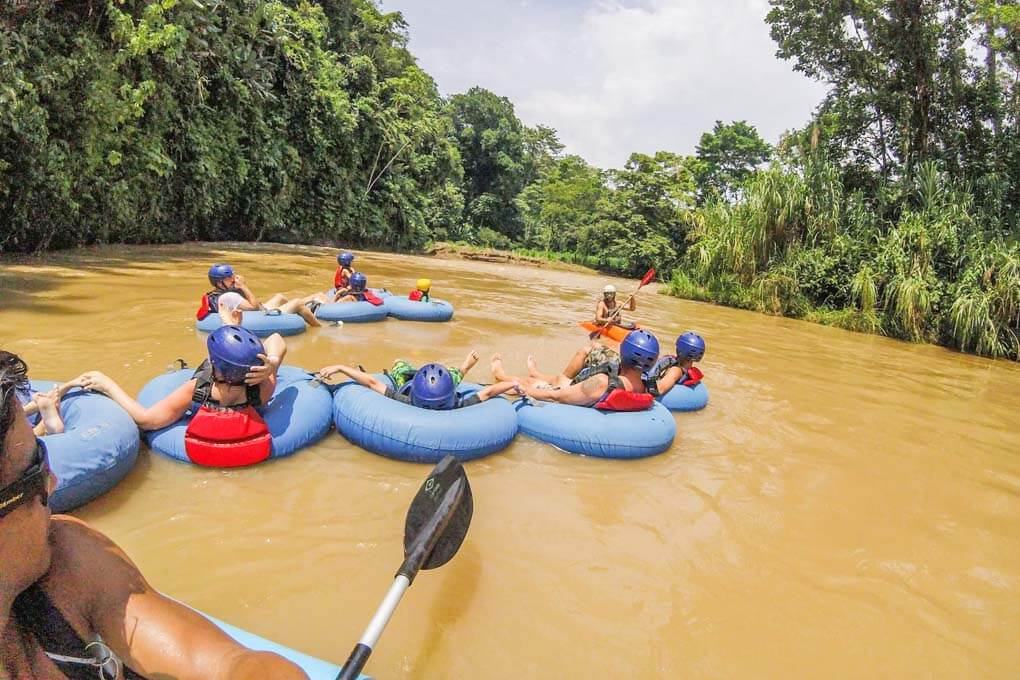 Arenal  River Tubing