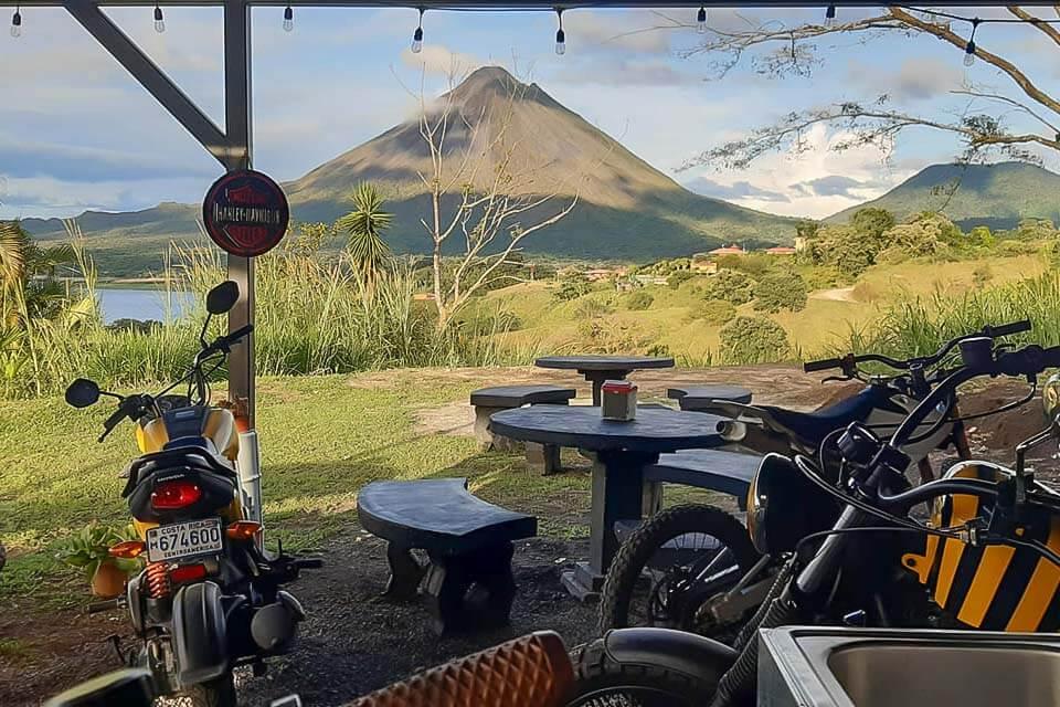 Views from the La Ventanita restaurant in Costa Rica