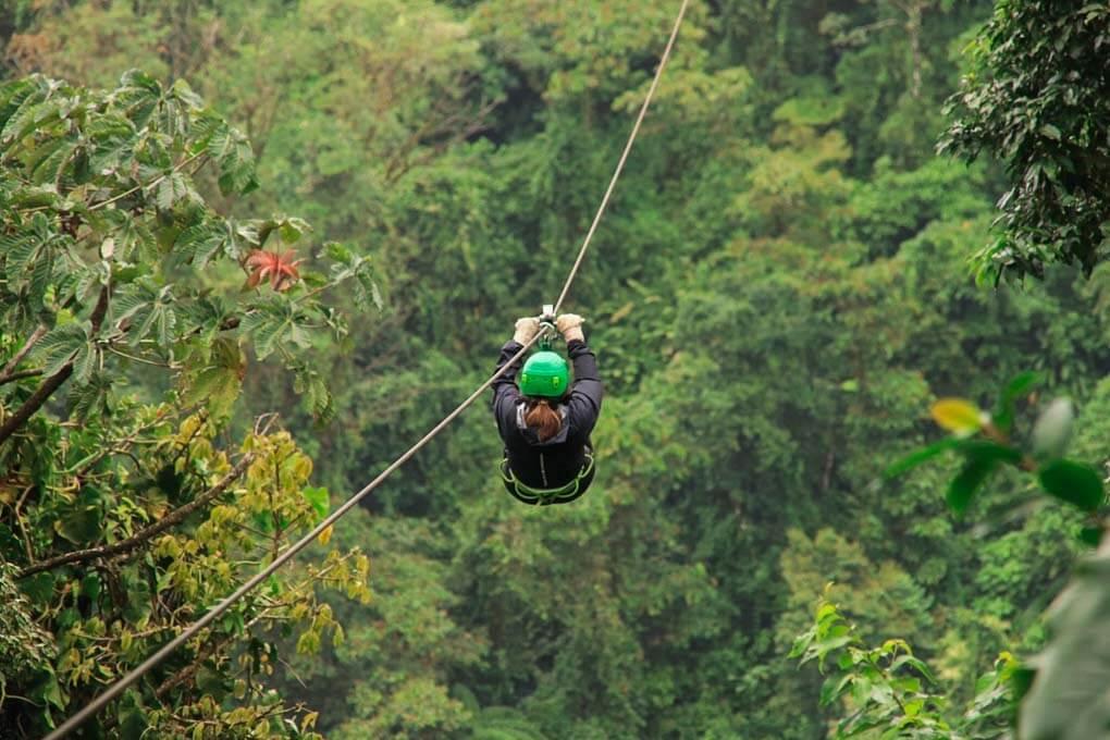 Sky Trek La Fortuna, Costa Rica