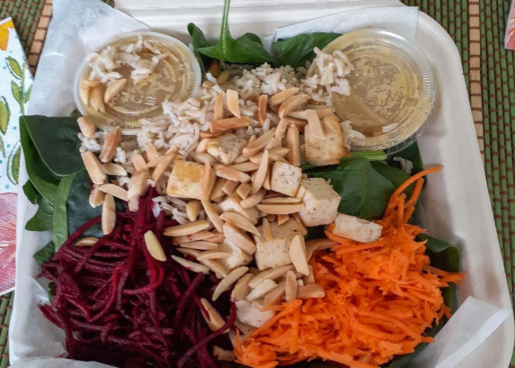 Vegan Bowl at Shuswap Pie Company