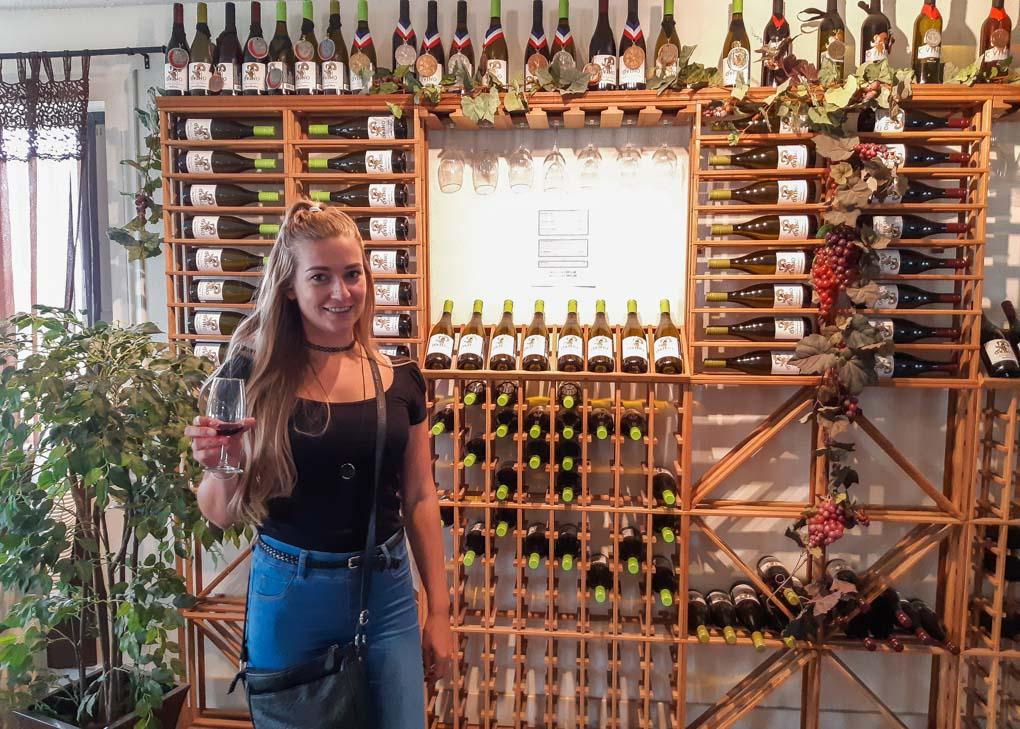 Bailey at OVINO Winery