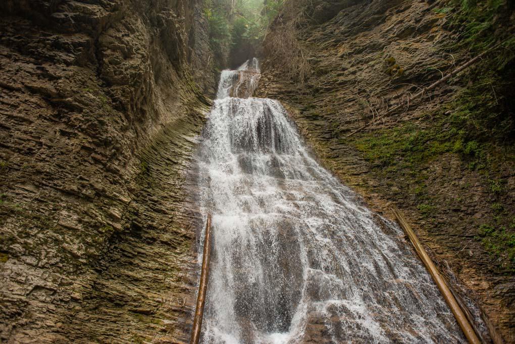 Margaret Falls in Harold's Provincial Park