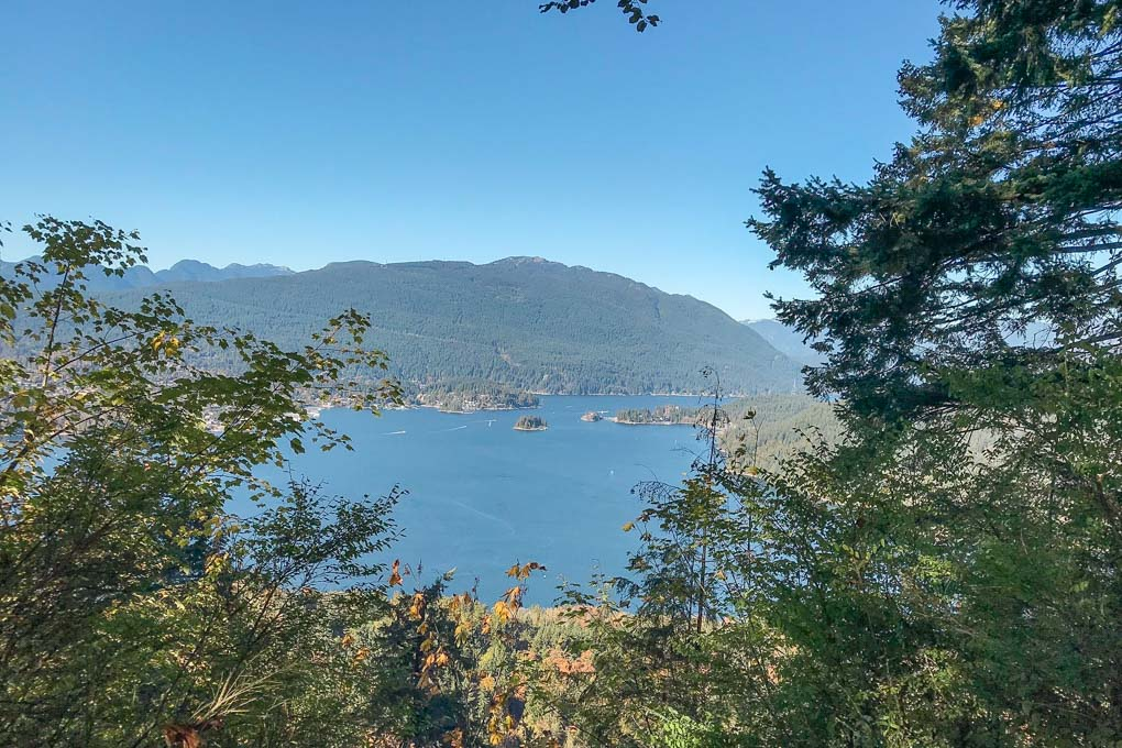 Velodrome Trail on Burnaby Mountain