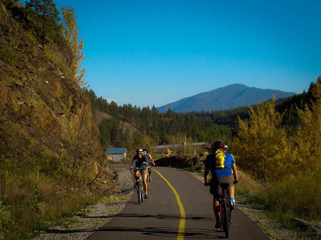 north star bike trail in Cranbrook