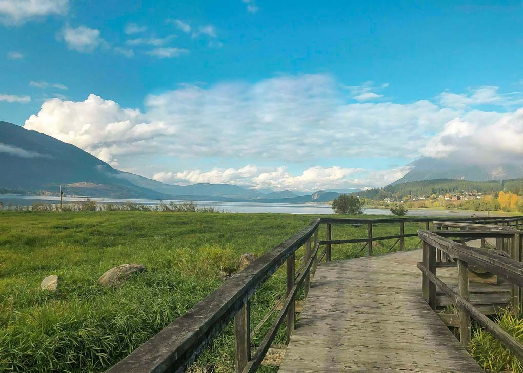 Raven Trail in Salmon Arm, BC