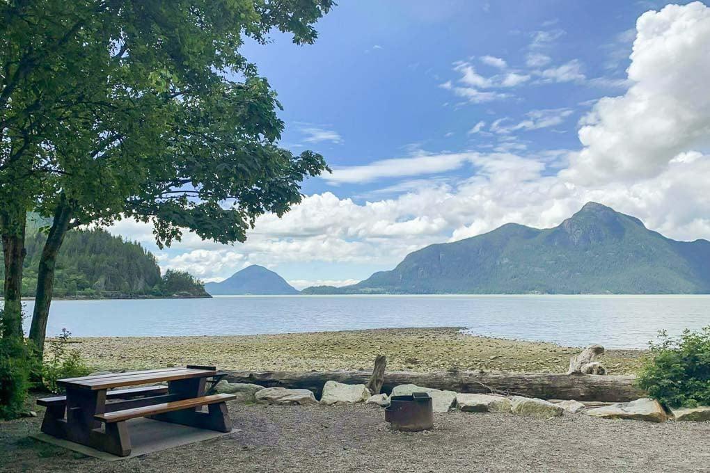Porteau Cove Lookout and campsite