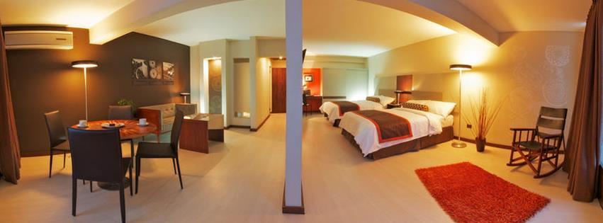 a room in Autentico Hotel in San Jose, Costa Rica