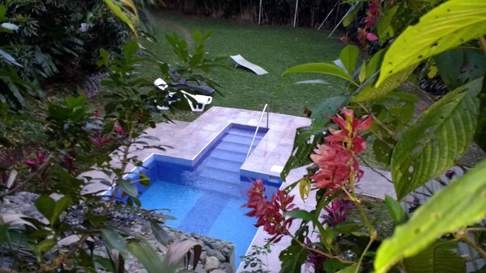the pool at B&B Garden Grecia hotel in San Jose, Costa Rica