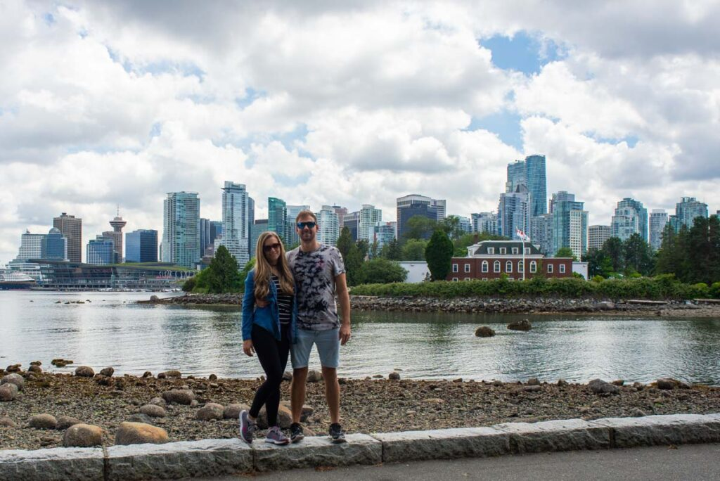 Bailey and Daniel from Destinationless Travel in Vancouver, Canada