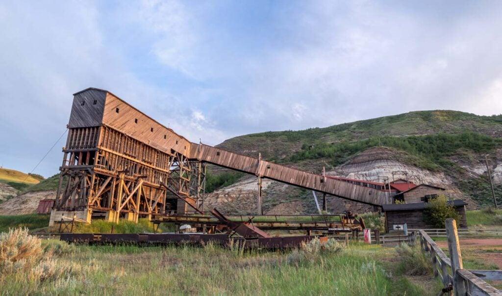 Atlas Coal Mine in Drumheller, Alberta