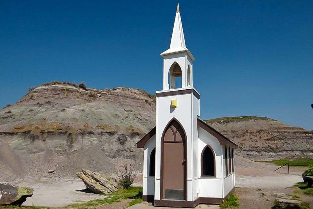 the Little Church in Drumheller