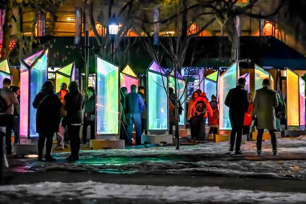 The GLOW Winter Light Festival