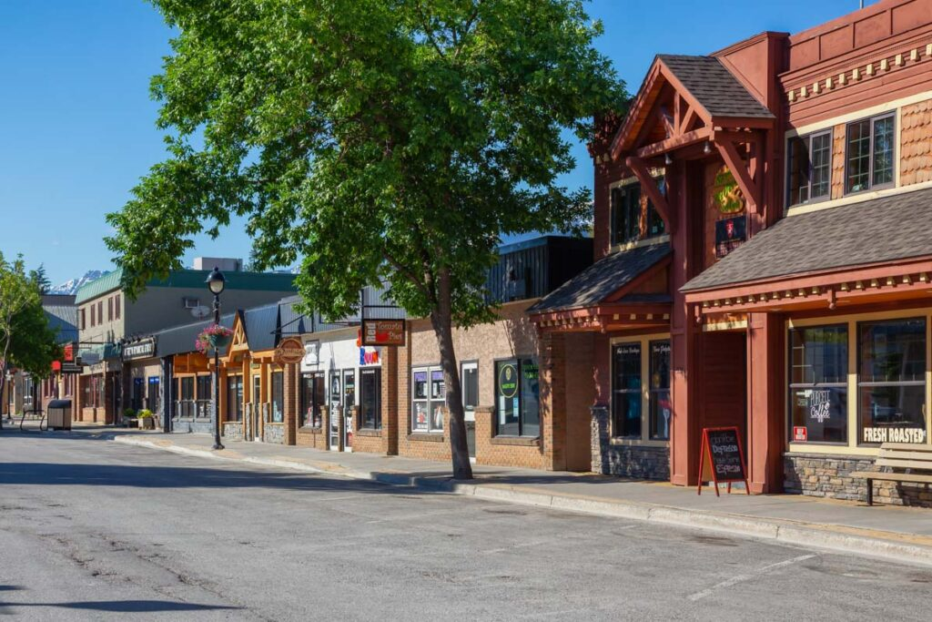Downtown Golden, BC