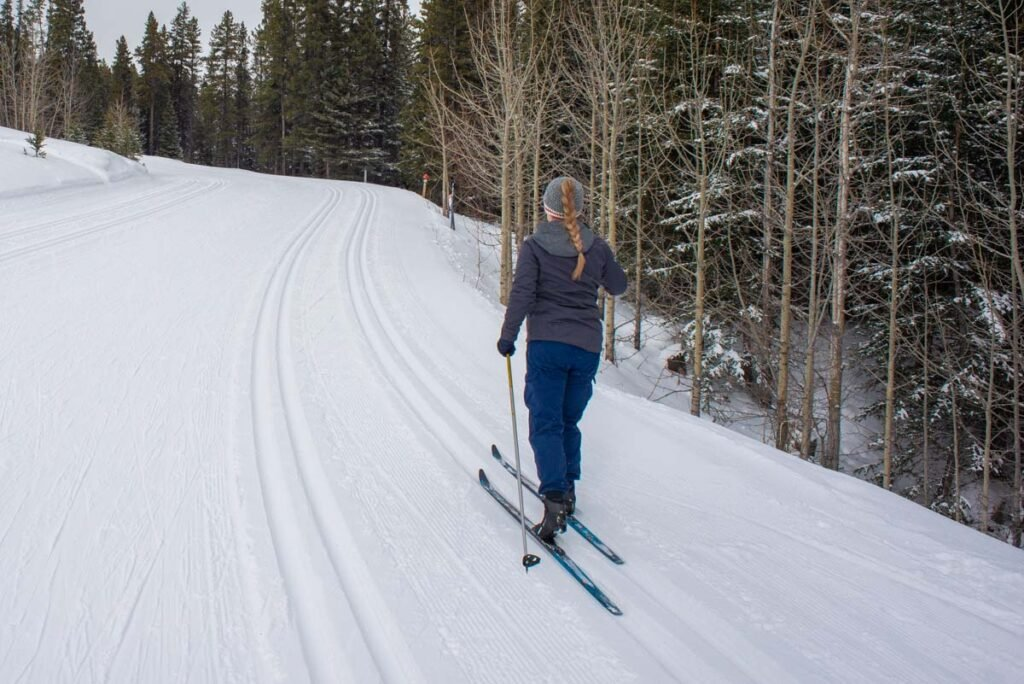 Cross country skiing in Canada