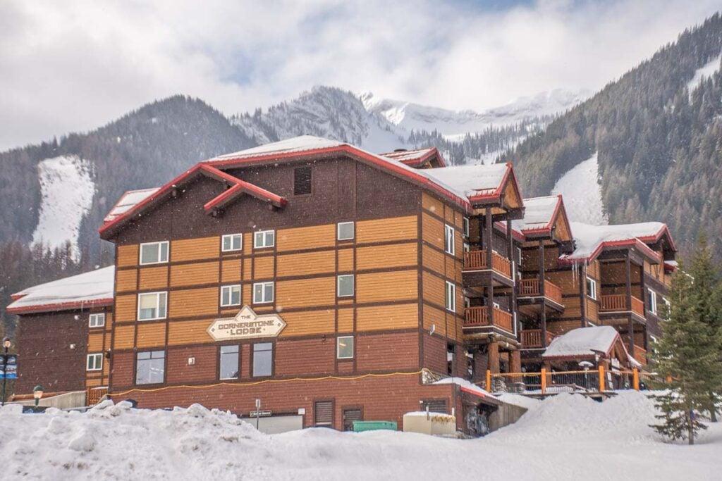 A hotel at Fernie Alpine Resort