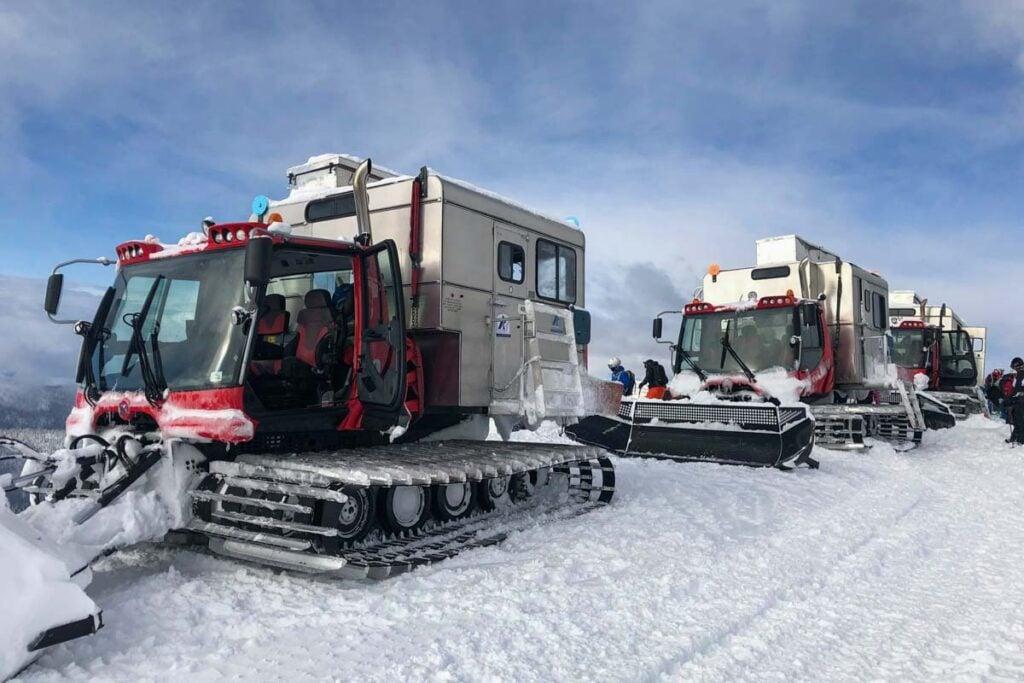 K3 Cat skiing in Revelstoke, BC