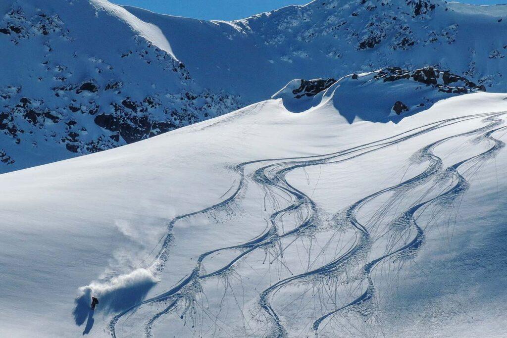 Heli skiing in Golden, BC