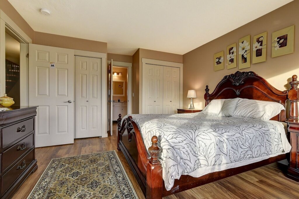 a room in the Rodee Homestay - one of the best places to stay in Kelowna