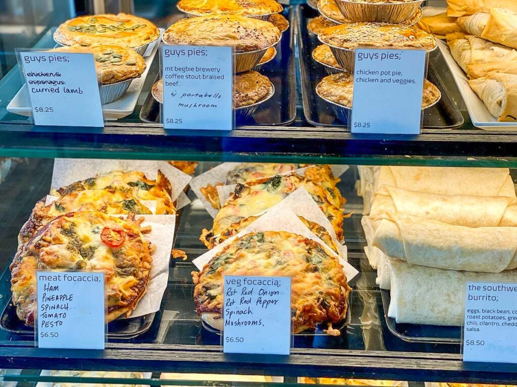 Food at Modern Bakeshop and Cafe, Revelstoke Downtown