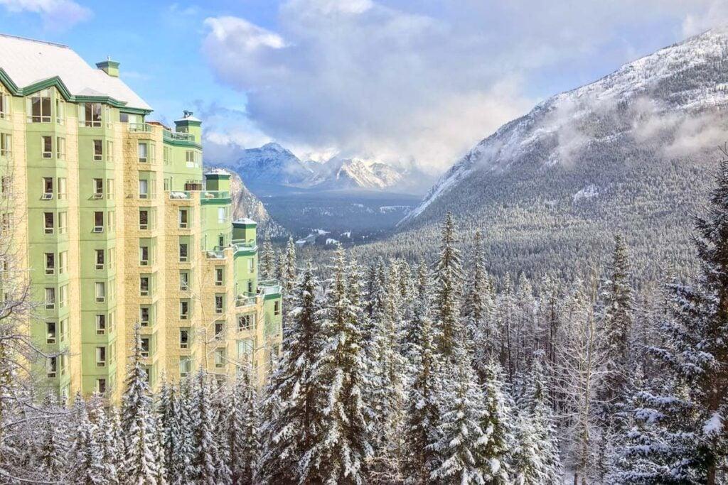 The Rimrock Resort Hotel in Banff