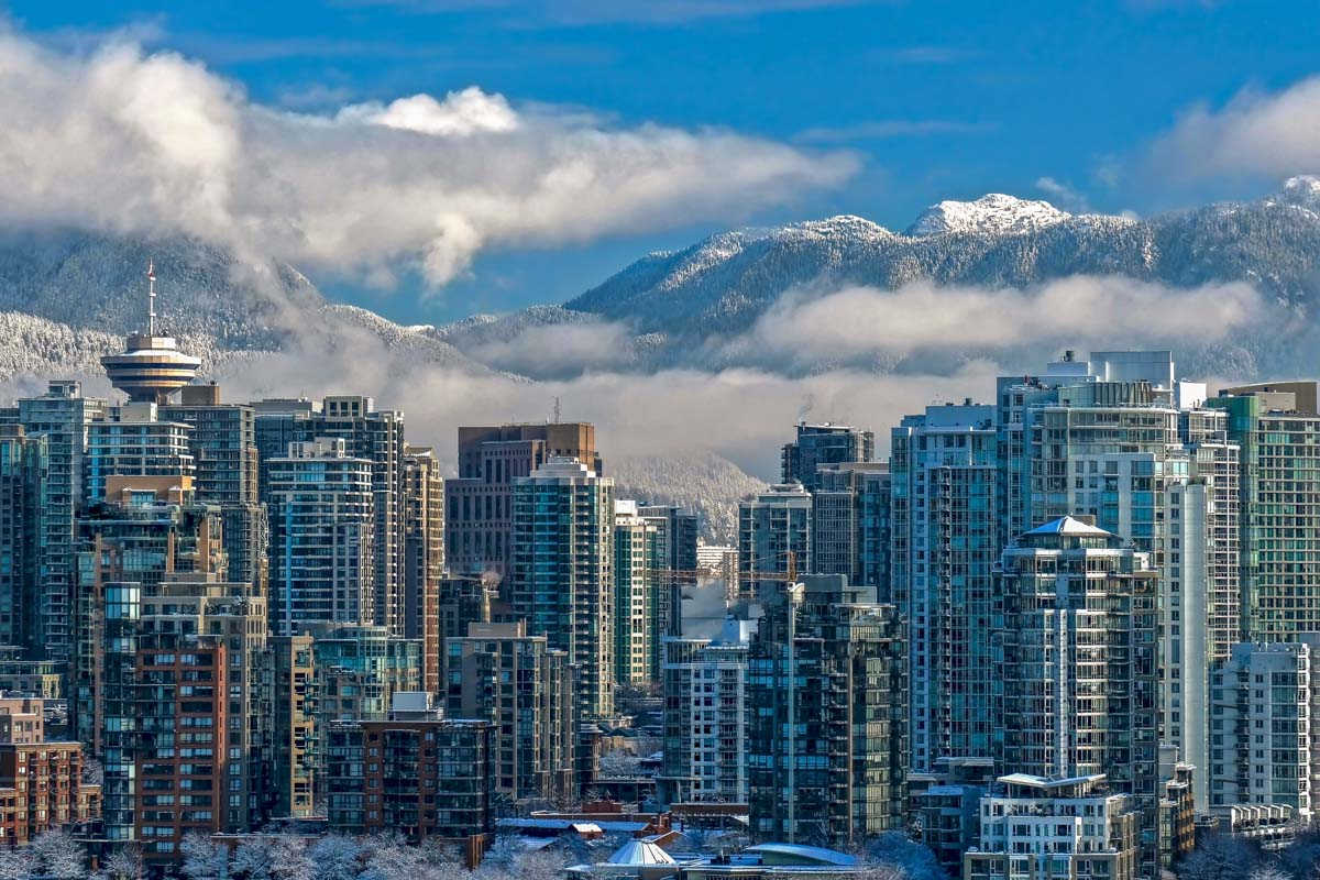 Vancouver City in Winter